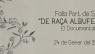 """Presentació del documental """"De raça Albuferenca"""""""